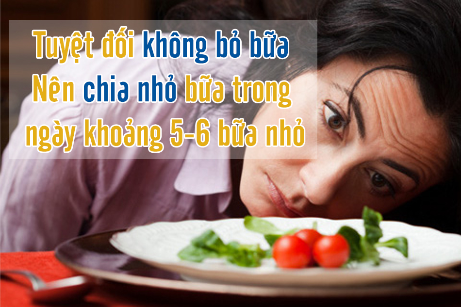Bỏ bữa ăn có thể gây nguy hiểm cho người bị tiểu đường