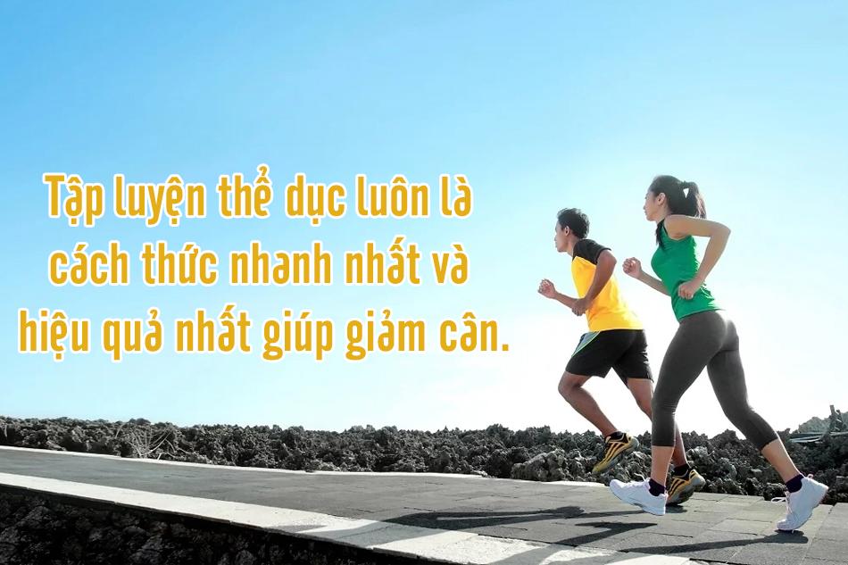 Giảm cân lành mạnh cho người tiểu đường kết hợp với vận động